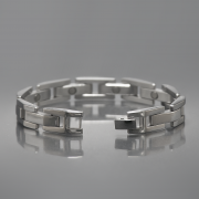 Eros magnetic stainless steel bracelet 1
