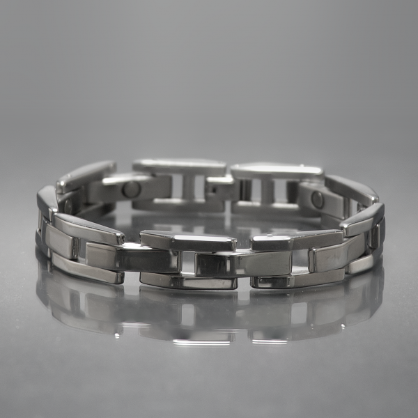 Eros magnetic stainless steel bracelet 2