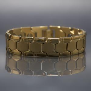 Hercules magnetic stainless steel bracelet 1