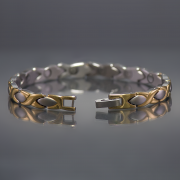Athena magnetic  stainless steel bracelet 2