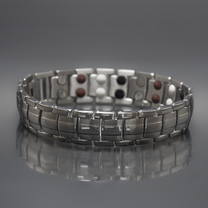 Odin magnetic stainless steel bracelet 1